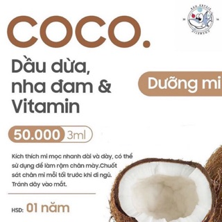 COCO Gel - Mascara Dưỡng Mi