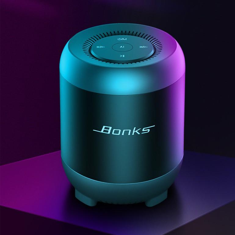 Loa Bluetooth Bonk Loa kép không dây Âm thanh nổi thông minh Thẻ n