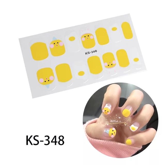 Miếng dán móng tay nail sticker