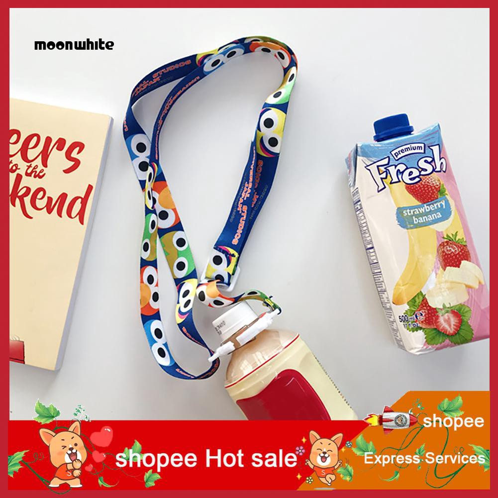 MW_Sesame Street 42-58cm Water Beverage Bottle Shoulder Strap Buckle Lanyard Strap