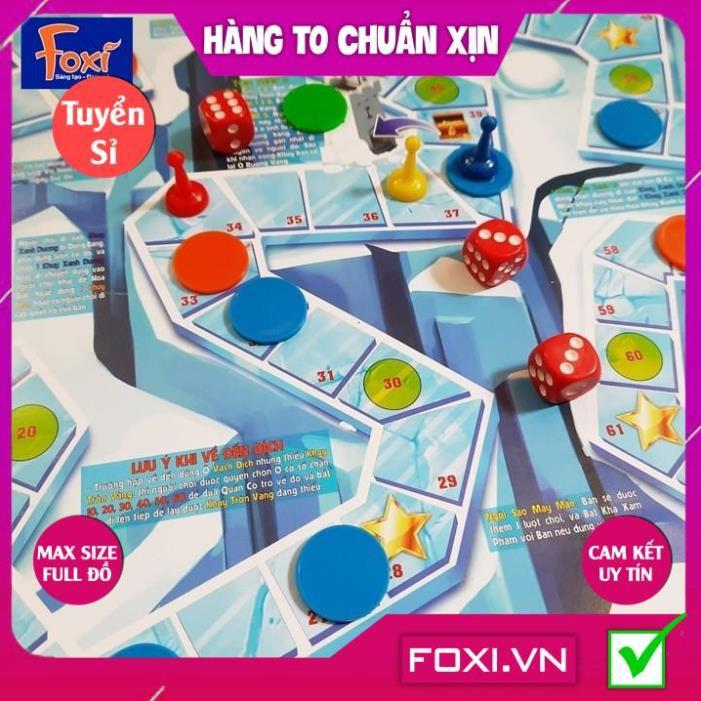 [FREESHIP HÀNG ĐẸP] Board game-Đi tìm kho báu mini 5 Foxi-trò chơi chiến thuật-hài hước-siêu lầy-bổ ích và lý thú