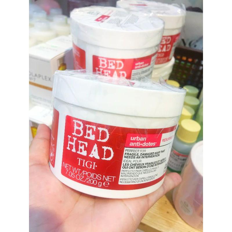 Ủ tóc Tigi Bed Head Resurrection Mask 200g phục hồi tóc hư tổn