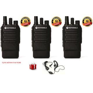 Bộ 3 Bộ đàm Motorola GP320 (Âm thanh trong trẻo)