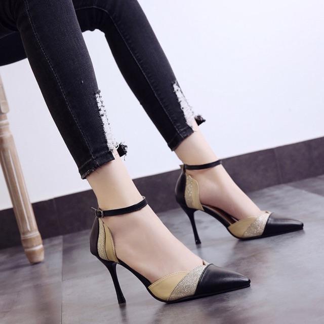 [ Hàng order 5 ngày] giày cao gót nữ phối màu đẹp - 2477366 , 1249262489 , 322_1249262489 , 215000 , -Hang-order-5-ngay-giay-cao-got-nu-phoi-mau-dep-322_1249262489 , shopee.vn , [ Hàng order 5 ngày] giày cao gót nữ phối màu đẹp