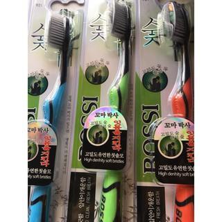 Bàn chải đánh răng than tre của Hàn Quốc Bossi