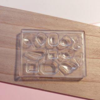 Khuôn trang sức resin bằng silicone