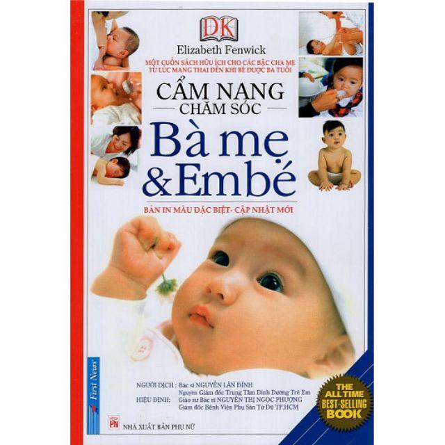 Cẩm nang chăm sóc bà mẹ và em bé - 2580947 , 950606707 , 322_950606707 , 146000 , Cam-nang-cham-soc-ba-me-va-em-be-322_950606707 , shopee.vn , Cẩm nang chăm sóc bà mẹ và em bé
