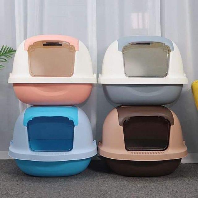 Nhà vệ sinh mèo cao cấp