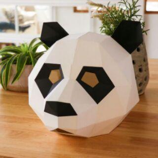 [Hot trend]Mặt nạ sáng tạo DIY theo công nghệ Low poly/Đạo cụ chụp hình/mặt nạ Halloween/Cosplay/Mặt nạ hoá trang