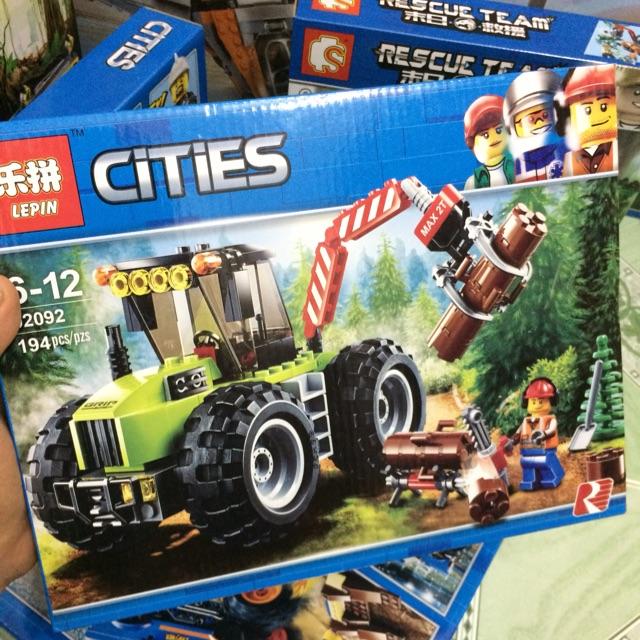 |Đồ Chơi Trẻ Em| Mẫu xếp Hình Lepin 02092 Cities(194 mảnh)