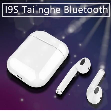 Tai nghe bluetooth không dây i9s TWS 2019 cao cấp V5.0 Âm thanh cực hay dành cho iOS hoặc Android
