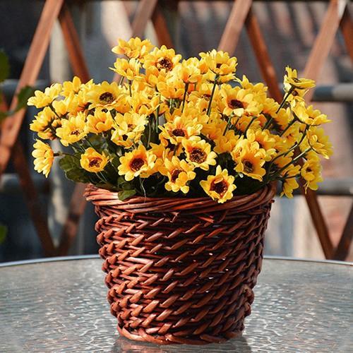 Hoa hướng dương giả dùng trang trí phòng