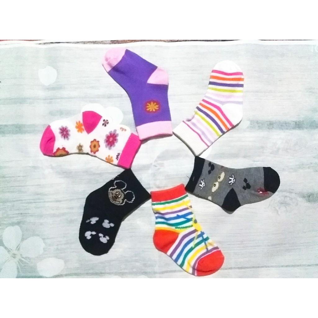 set 10 đôi tất siêu ấm cho bé trai , bé gái ( đủ size từ sơ sinh đến 5 tuổi  )