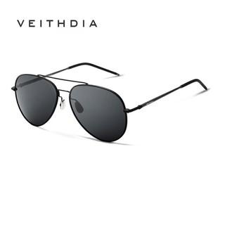 Kính mát phân cực VEITHDIA 3618 nhẹ bằng hợp kim nhôm magiê phong cách mùa xuân thời trang cho nam
