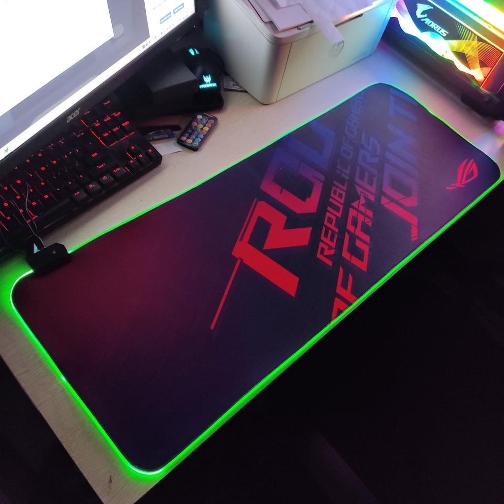 Pad Led RGB ( Bàn Di Chuột ) Thiết Kế Thời Thượng 2021