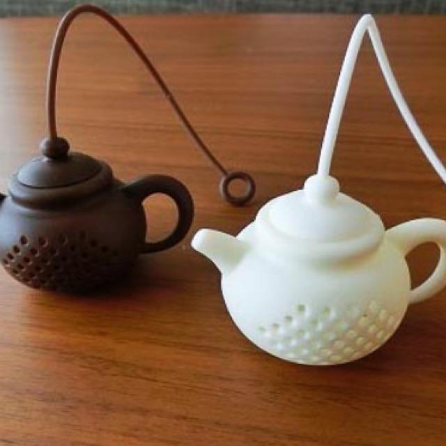Lọc trà silicon nhỏ(GIAO MÀU NGẪU NHIÊN)