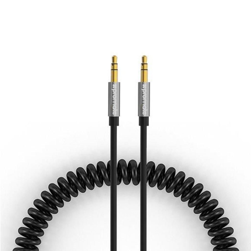 Cáp nối âm thanh Promate linkMate-A3 cổng 3.5mm 2.5m (Đen)