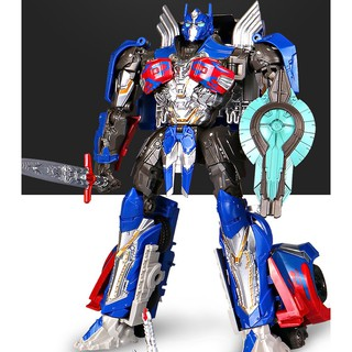 Mô Hình Robot Transformers Optimus Prime H8001-1 Black Mamba Convoy Prime