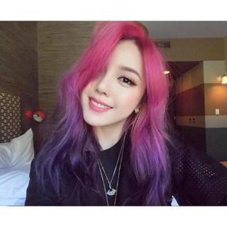 thuốc nhuộm tóc hồng + tặng kèm oxy trợ dưỡng thumbnail