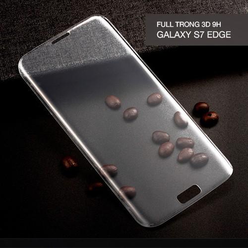 [SIÊU KHUYẾN MẠI CUỐI NĂM] Cường lực 3D full viền trong suốt Galaxy S7 Edge