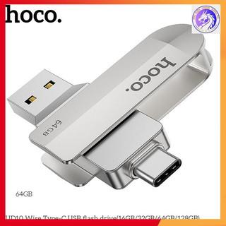 USB Hai Đầu (USB+ Type-C) Hoco UD10 loại 3.0 16/32/64GB Tốc Độ Ổn Định - Chính Hãng - Bảo Hành 5 Năm
