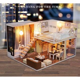 Mô hình nhà gỗ DIY căn phòng mô ước