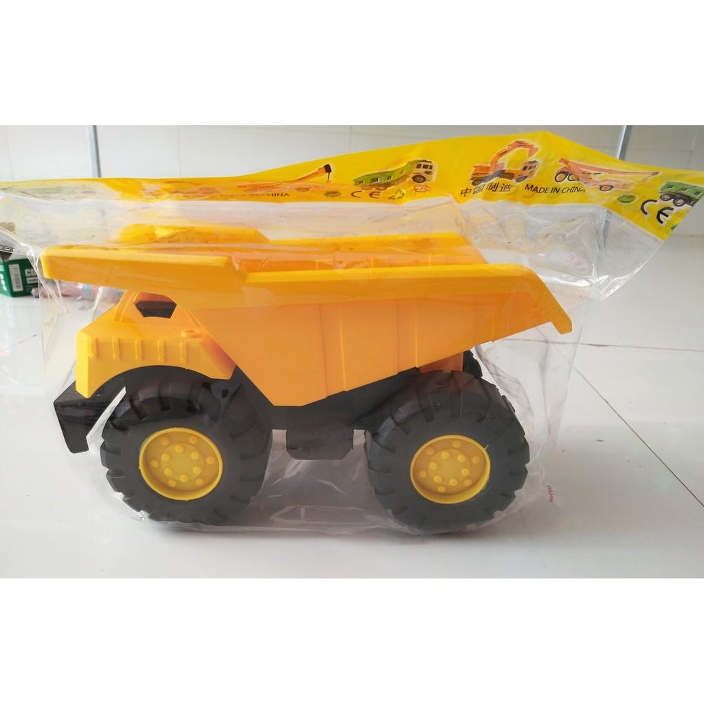 [ĐỒ CHƠI] [HÀNG ĐẸP GIÁ RẺ]đồchơi cho bé – Xe tải công trình chạy đà cho bé – Xe đồ chơi (SP255) [AN TOÀN]