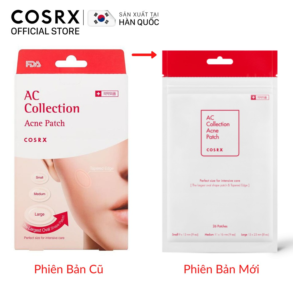 Dán Mụn Cao Cấp COSRX AC Collection Acne Patch 26 miếng   Shopee Việt Nam