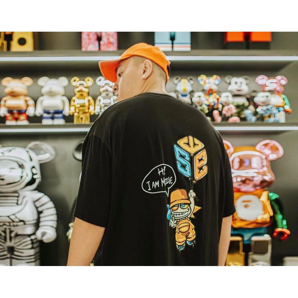 [ Full Tag Hãng ] Áo Thun SWE Local Brand Nam Nữ Unisex Tee Basic Form Rộng Tay Lỡ Streetwear Oversize Cổ Tròn