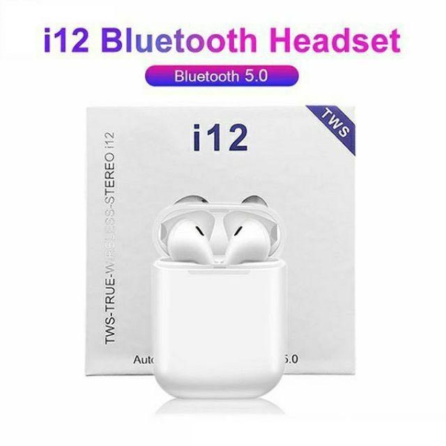 Mini Bluetooth Earphone 5.0 Wireless Headphones Sport Headsets Tai nghe bluetooth cảm biến vân tay