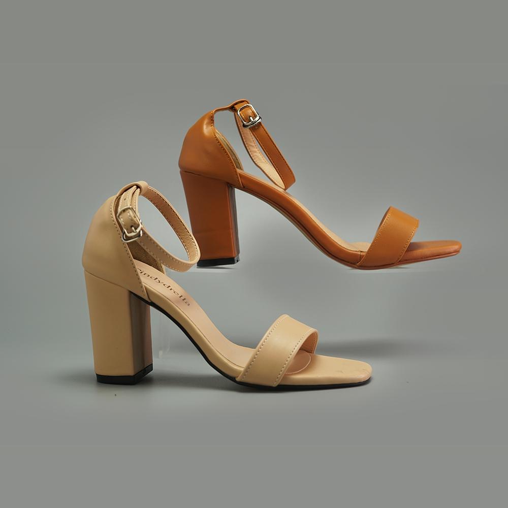 [Mã WSTOPT9 hoàn 30K xu đơn từ 150K] sandal bít hậu cao gót Cindydrella c3 nhiều màu