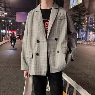 Áo blazer Nam Và Nữ sọc caro – Feedback ảnh cuối hàng sẵn, video cận chất