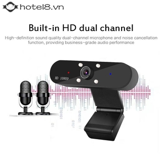 ✦✦ Webcam USB Computer Web Camera For PC Laptop Desktop Video Cam W/ Microphone 【hotel8】