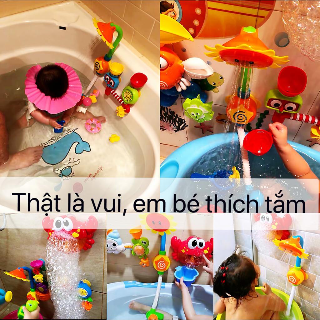 Đồ chơi nhà tắm phun nước nhiều mẫu mã tùy chọn dành cho bé trai và bé gái