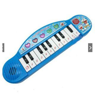 Đàn Chơi Đàn Organ Doraemon Dùng Pin Bằng Nhựa