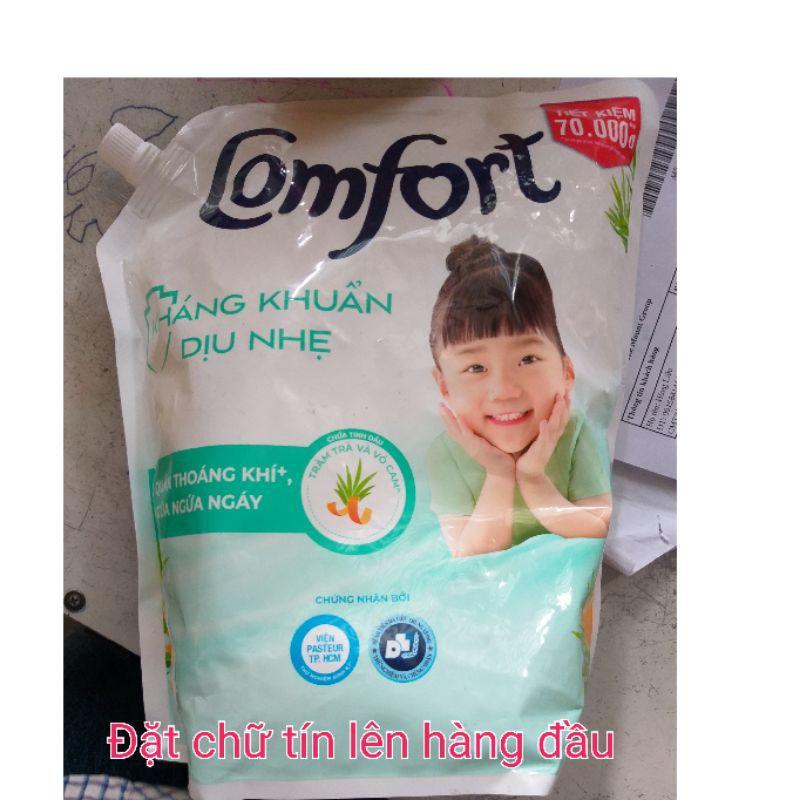 Nước xả vải Comfort kháng khuẩn dịu nhẹ 2,4L