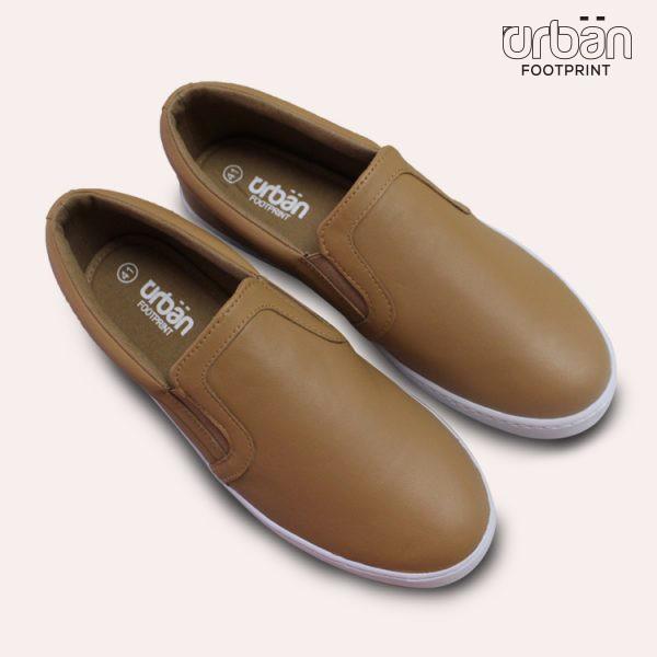 D&A giày slipon nam thời trang UM1724 nâu