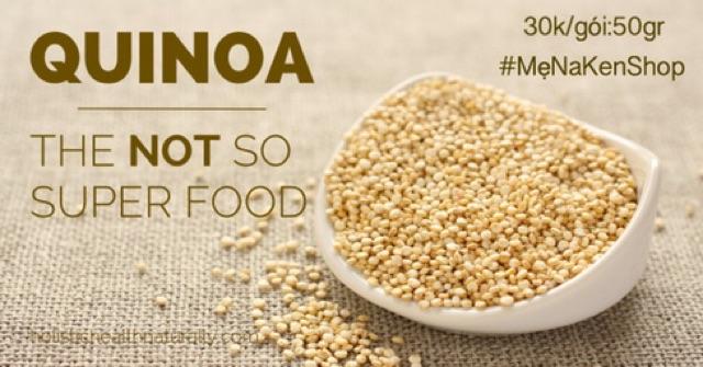 Combo 4 hạt( cốm /lăng đỏ/quinoa/đậu gà)