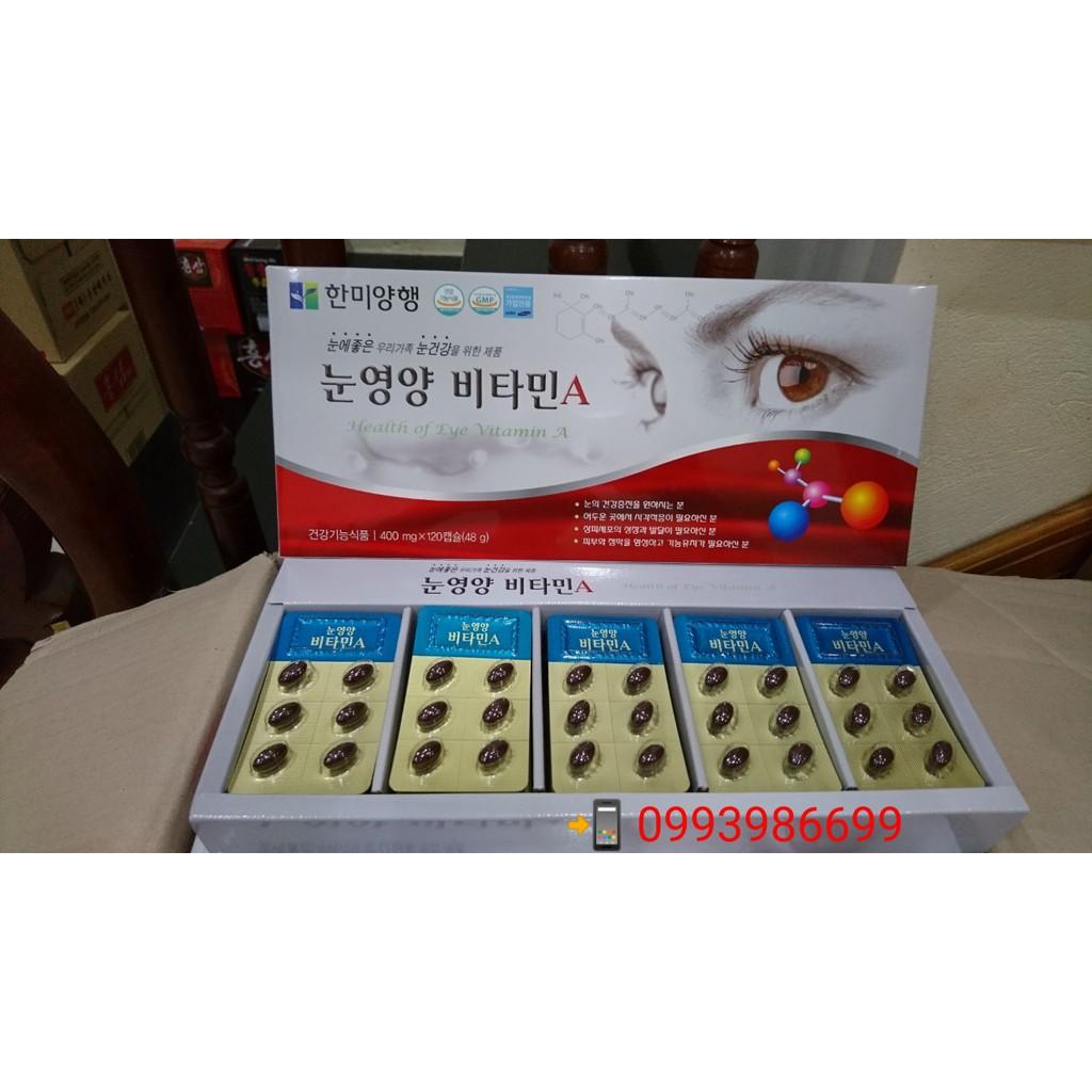 Viên bổ mắt vitamin A HÀN QUỐC - 2956521 , 977385124 , 322_977385124 , 390000 , Vien-bo-mat-vitamin-A-HAN-QUOC-322_977385124 , shopee.vn , Viên bổ mắt vitamin A HÀN QUỐC