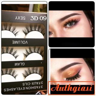 Sỉ Mi chồn 3D 3 đôi Fashion Eyelashes mi giả siêu xinh đủ mã
