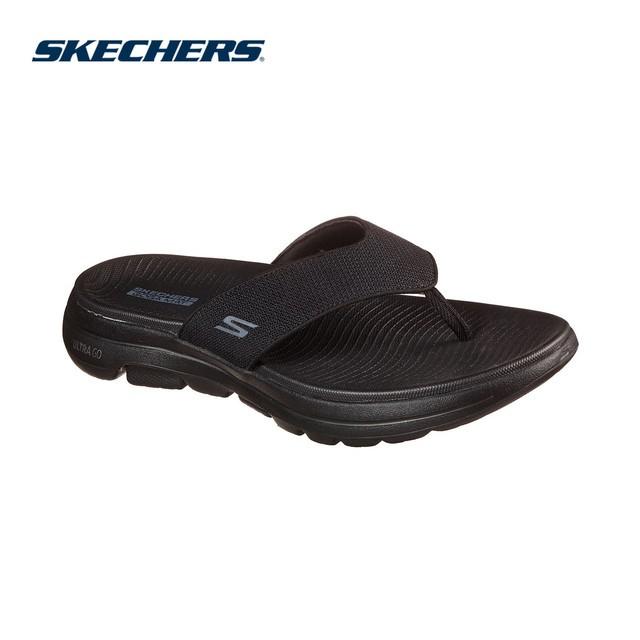 [Mã MABRVP7 giảm 10% tối đa 100K đơn 500k] Skechers Nam Xăng Đan GOwalk 5 On-The-GO Sandals - 229009-BBK