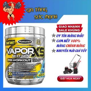 Tăng sức mạnh – Vapor X5 – Pre-workout – hộp 30 lần dùng – Hàng chính hãng Muscletech USA