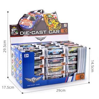 Xe mô hình, xe đua Rally bằng kim loại tỉ lệ 1 64 thumbnail