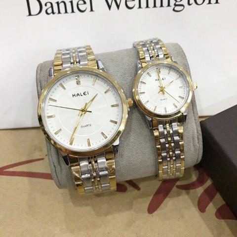 Đồng hồ Halei 552 Demi dành cho Nam Nữ dây demi vô cùng sang trọng