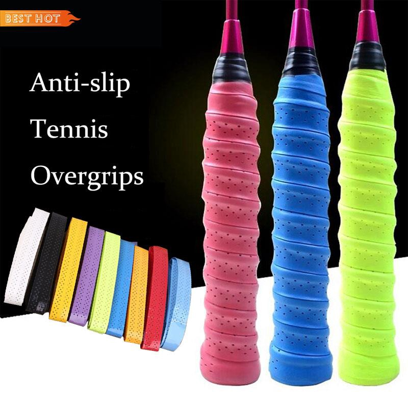 Tennis Badminton Racquet Overgrips Wrap Handle Band Tape Anti-Slip Sweatband