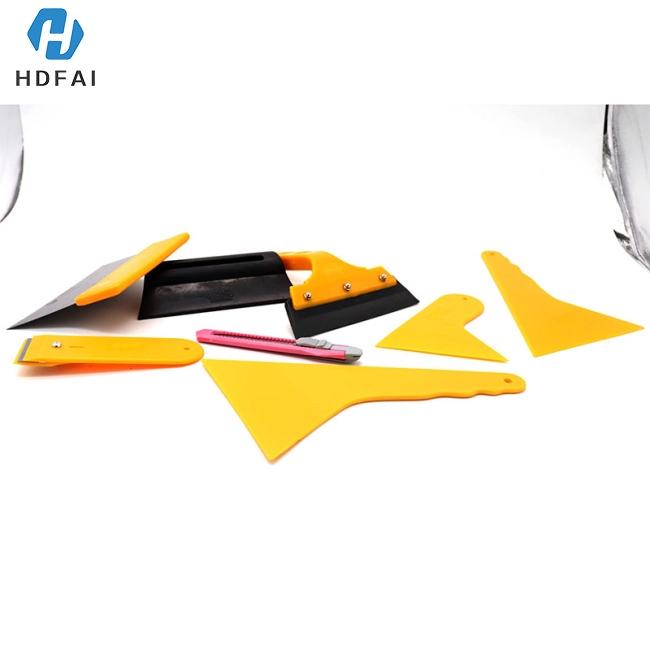 Car Window Tint Film Tools Kit Scraper Squeegee Auto Film Tinting Installation 7pcs/set