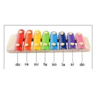 đàn xylophone 8 nốt 8 màu cho bé