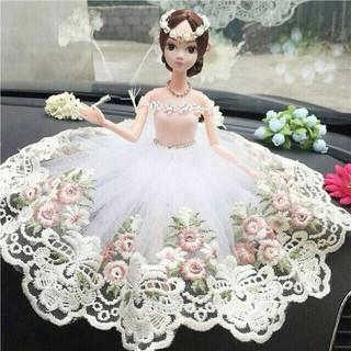 Búp bê công chúa váy khổng tước siêu đẹp 12 khớp | Có Sẵn
