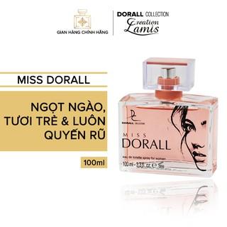 Nước hoa Dubai chính hãng dành cho nữ Dorall Collection MISS DORALL hương thơm ngọt ngào quyến rũ và luôn tươi trẻ 100ml thumbnail