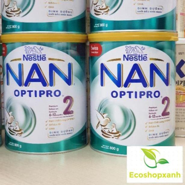 Sữa NAN OPTIPRO 2 Mẫu Mới 800g (Date 2021)